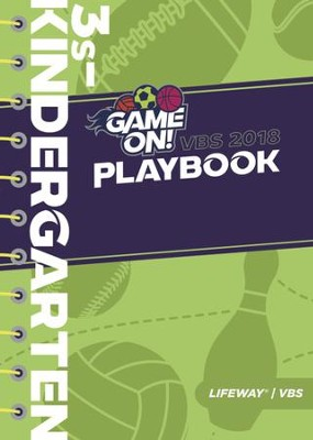 Game On: Playbook, 3s - Kindergarten  -