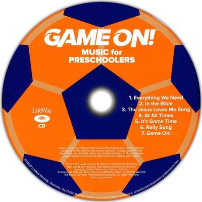 Game On: Music for Preschoolers (pkg. of 5)  -