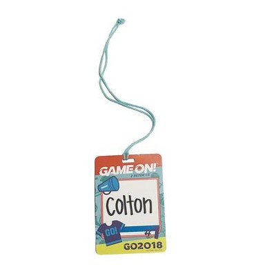 Game On: Name Tags (pkg. of 20)  -