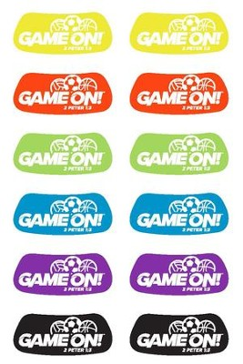 Game On: Eye Black Decals (pkg. of 60)  -