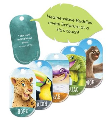 Shipwrecked: Bible Memory Buddies (enough for 5 kids)  -