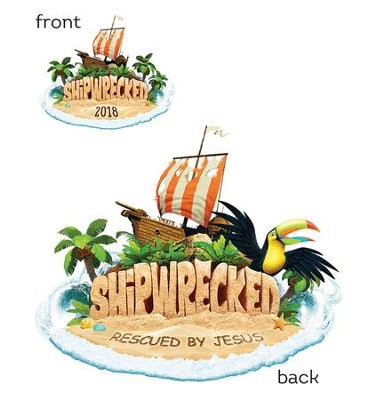 Shipwrecked: Iron-On Transfers (pkg. of 10)  -