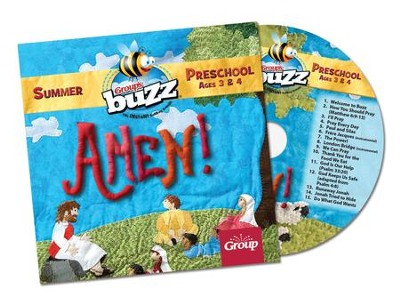 Buzz: Preschool Amen! CD, Summer 2018  -