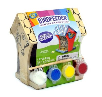 Mini Wood Paint Kit: Birdfeeder  -