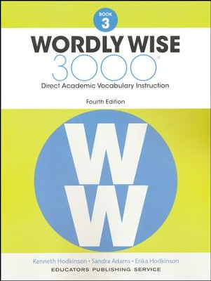 Wordly Wise 3000 Book 3 Student Edition (4th Edition)  -