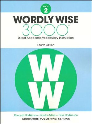 Wordly Wise 3000 Book 2 Student Edition (4th Edition)   -