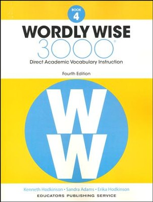 Wordly Wise 3000 Book 4 Student Edition (4th Edition)  -
