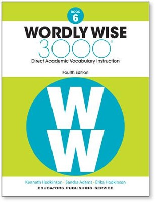 Wordly Wise 3000 Book 6 Student Edition (4th Edition)  -