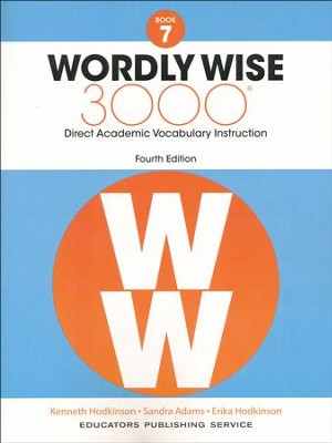 Wordly Wise 3000 Book 7 Student Edition (4th Edition)  -