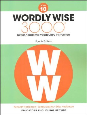 Wordly Wise 3000 Book 10 Student Edition (4th Edition)  -
