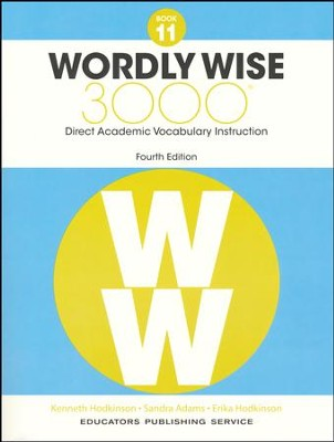 Wordly Wise 3000 Book 11 Student Edition (4th Edition)  -