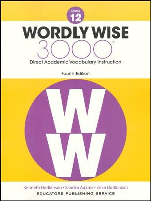 Wordly Wise 3000 Book 12 Student Edition (4th Edition)  -