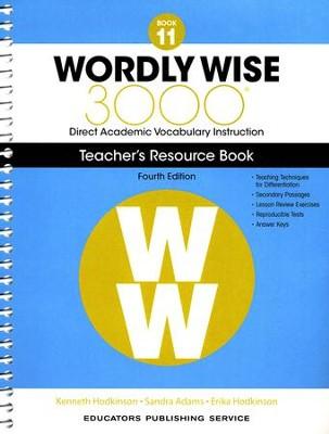 Wordly Wise 3000 Book 11 Teacher's Guide (4th Edition)  -