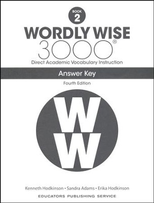 Wordly Wise 3000 Book 2 Key (4th Edition)  -