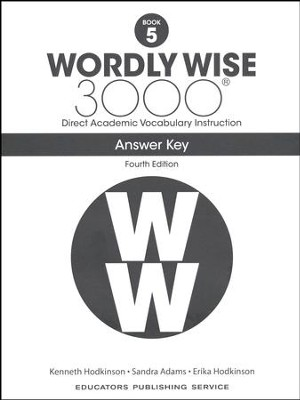 Wordly Wise 3000 Book 5 Key (4th Edition)  -