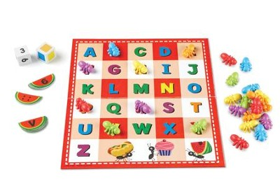 ABC & 123 Picnic Activity Set, 69 Pieces  -