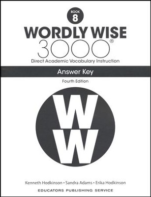 Wordly Wise 3000 Book 8 Key (4th Edition)  -
