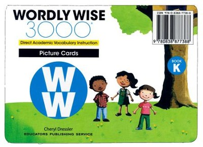 Wordly Wise 3000 Book K Word Cards (2nd Edition)  -