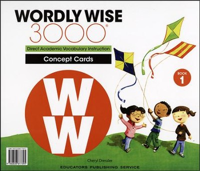 Wordly wise 3000 book 1 concept cards 2nd edition 9780838877395 wordly wise 3000 book 1 concept cards 2nd edition fandeluxe Image collections