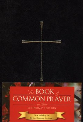 The Book of Common Prayer, Economy Edition, black hardcover  -