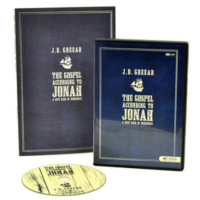 The Gospel According to Jonah: A New Kind of Obedience, DVD Leader Kit  -     By: J.D. Greear