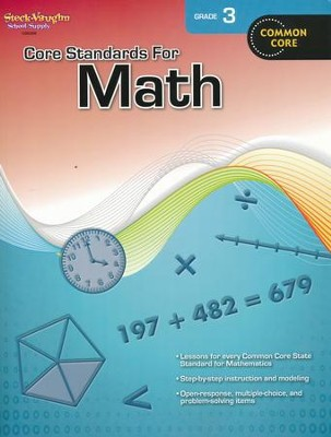 Core Standards for Math Grade 3  -