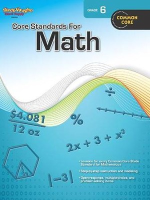 Core Standards for Math Grade 6  -