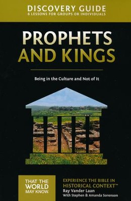 TTWMK Volume 2: Prophets and Kings, Discovery Guide   -     By: Ray Vander Laan