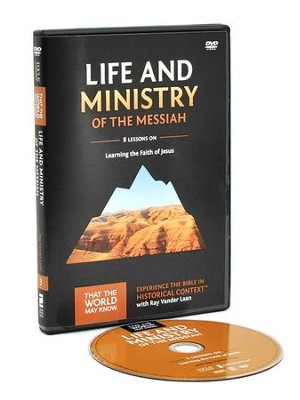 TTWMK Volume 3: Life and Ministry of the Messiah, DVD Study with Leader Booklet  -     By: Ray Vander Laan