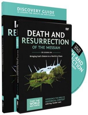 TTWMK Volume 4: Death and Resurrection of the Messiah, Discovery Guide and DVD   -     By: Ray Vander Laan