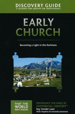 TTWMK Volume 5: The Early Church, Discovery Guide   -     By: Ray Vander Laan