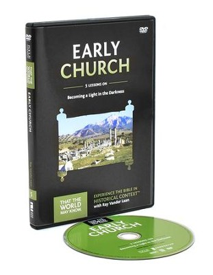 TTWMK Volume 5: The Early Church, DVD Study with Leader Booklet   -     By: Ray Vander Laan