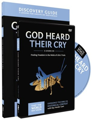 TTWMK Volume 8: God Heard Their Cry, Discovery Guide and DVD   -     By: Ray Vander Laan