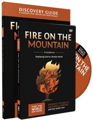 TTWMK Volume 9: Fire on the Mountain, Discovery Guide and DVD    -     By: Ray Vander Laan
