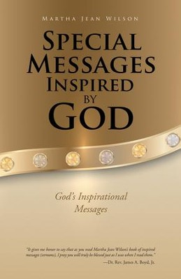 Special Messages Inspired by God: God's Inspirational Messages - eBook  -     By: Martha Jean Wilson