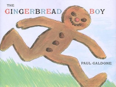 The Gingerbread Boy   -     By: Paul Galdone     Illustrated By: Paul Galdone