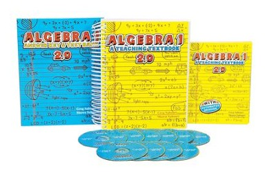 Teaching Textbooks Algebra 1 Complete Kit, Version 2.0   -     By: Greg Sabouri, Shawn Sabouri