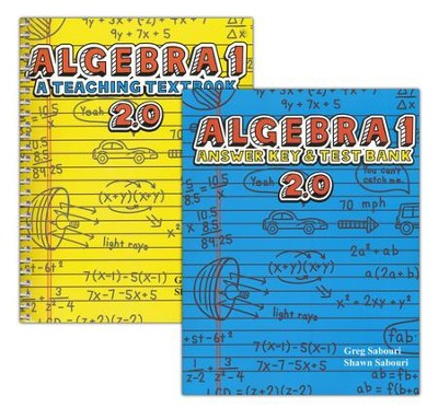 Teaching Textbooks Algebra 1 Textbook and Answer Key, Version 2.0  -