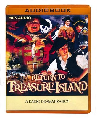 Return to Treasure Island: A Radio Dramatization on MP3-CD  -     Narrated By: Anastas Virinos, The Colonial Radio Players     By: Gareth Tilley