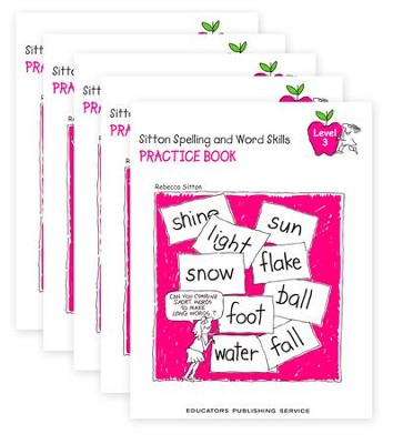 Sitton Grade 3 Practice Book 5-Pack  -