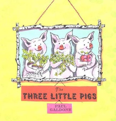 The Three Little Pigs   -     By: Paul Galdone     Illustrated By: Paul Galdone