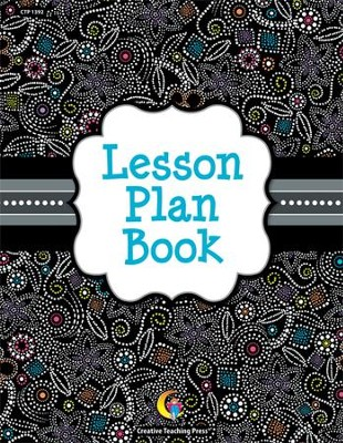 Black & White Lesson Plan Book   -