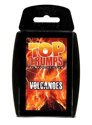 Top Trumps Card Game: Volcanoes   -