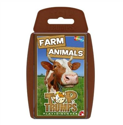 Top Trumps Card Game: Farm Animals   -