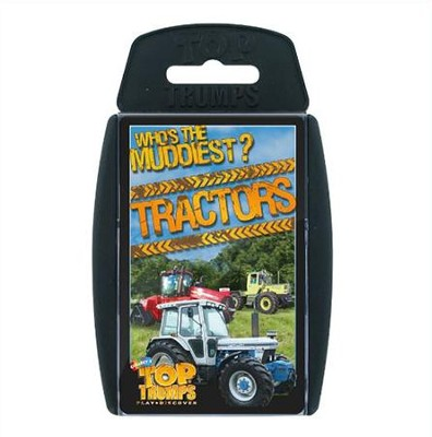 Top Trumps Card Game: 30 Best Tractors   -