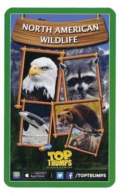 Top Trumps Card Game: North American Wildlife   -