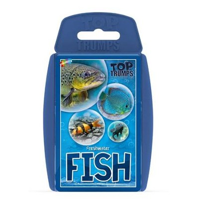 Top Trumps Card Game: Fish   -