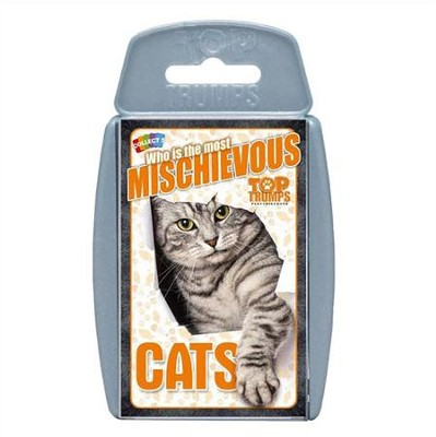 Top Trumps Card Game: Who is the Most Mischievous?  Cats  -