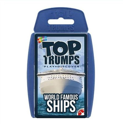Top Trumps Card Game: World Famous Ships   -