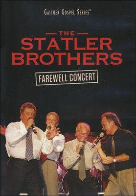 The Statler Brothers Farewell Concert DVD   -